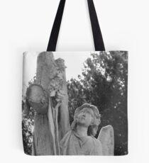 Angel headstone Tote Bag
