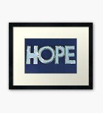 MCC Hope Framed Print