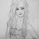 Bright Eyes- Sketch by Aubrey Dunn