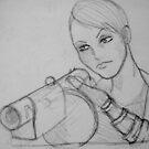 Maret- Rough Sketch II by Aubrey Dunn