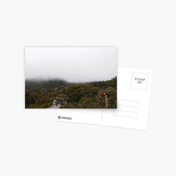 A foggy day at Cradle Mountain, Tasmania Postcard