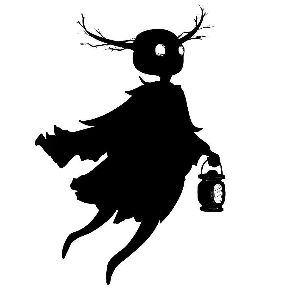 Over The Garden Wall The Beast By Underblack Redbubble