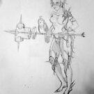 Heavy- Rough Sketch by Aubrey Dunn