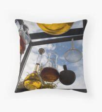 Beakers, Curtin University Throw Pillow