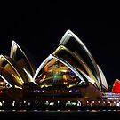 Opera house by Len  Gunther