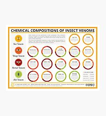 The Chemical Compositions of Insect Venoms Photographic Print