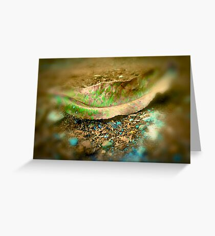 leaf matter Greeting Card