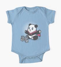 Baby Panda Hero Shirt One Piece - Short Sleeve