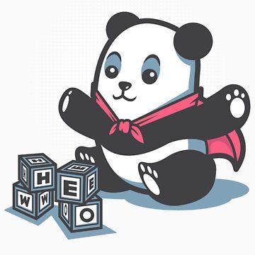 Baby Panda Hero Shirt by siridhata