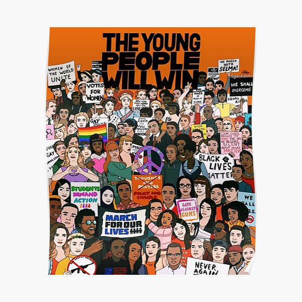The Young People Will Win Poster
