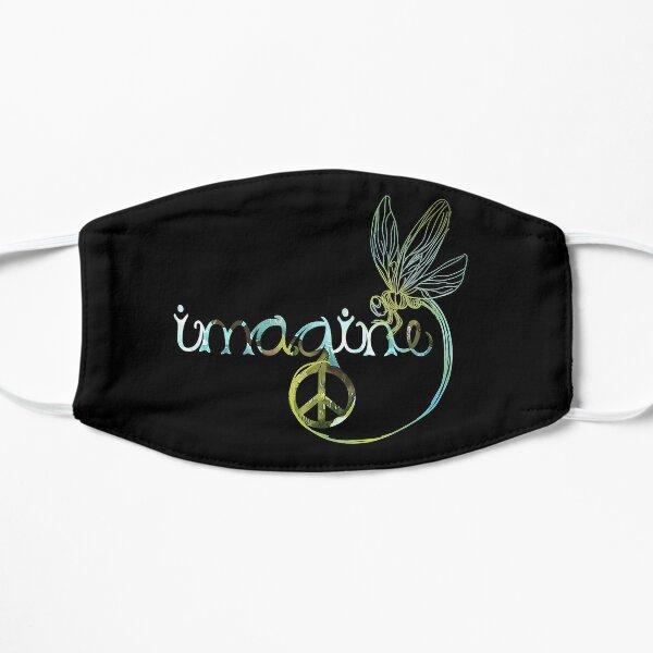 Dragonfly Imagine Hippie For Women Men Flat Mask