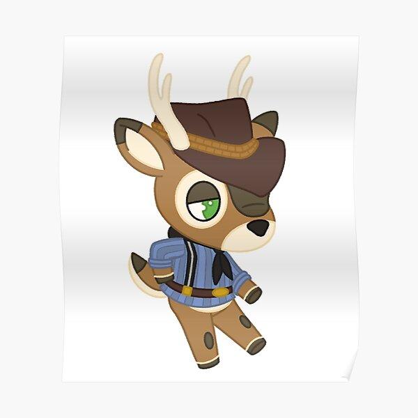 Arthur Morgan - Animal Crossing Poster