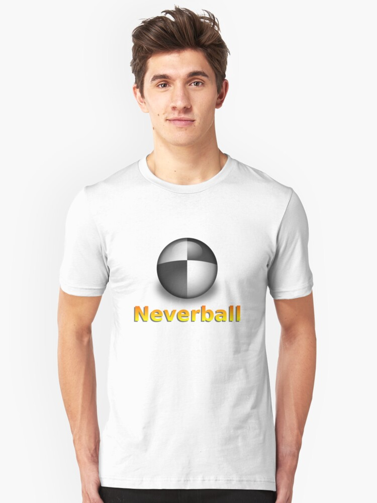 Nevershirt (Transparent Ball) by Josh Bush