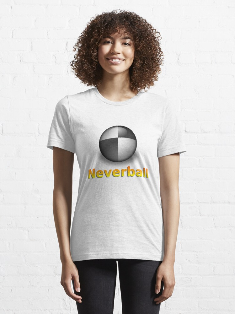 Alternate view of Nevershirt (Transparent Ball) Essential T-Shirt