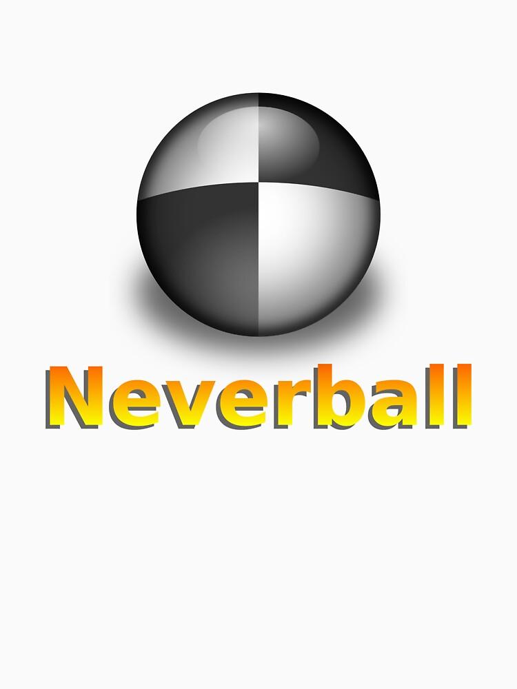 Nevershirt (White Ball) by Cheeseness