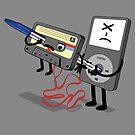 Killer Ipod Clipart (Murder of Retro Cassette Tape ) by Creative Spectator