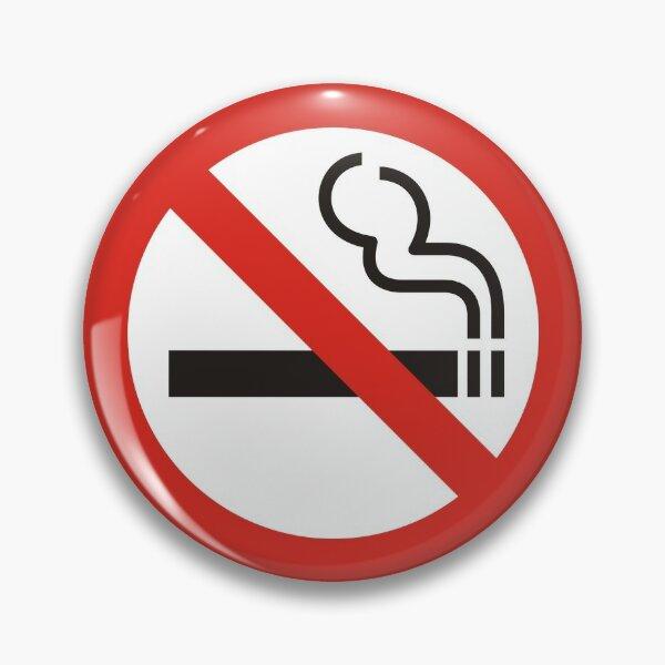 Aucun signe de fumer Badge