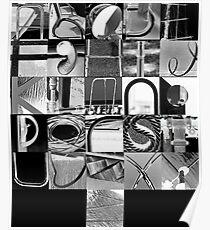 Urban Alphabet Poster