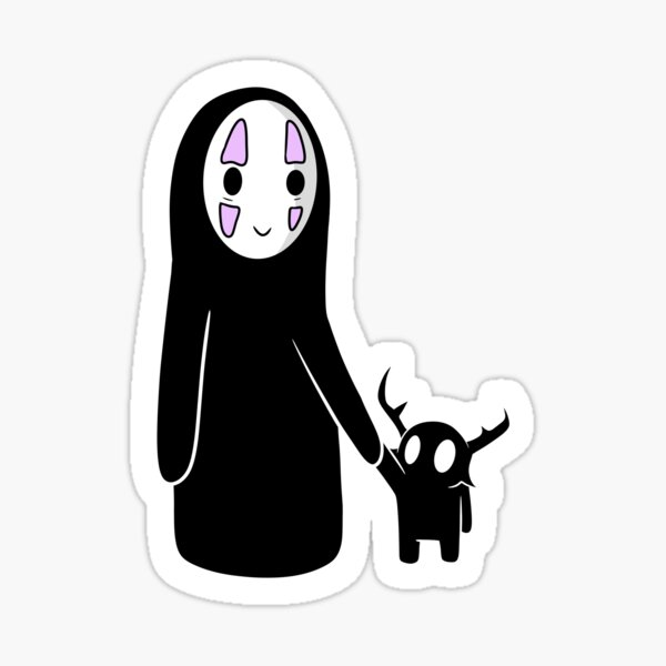 No Face and Null Sticker