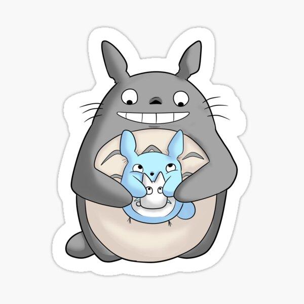 Totoro Family from studio ghibli Sticker
