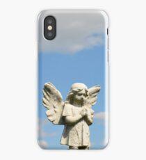 Guardian Angel Blue Skies  iPhone Case/Skin