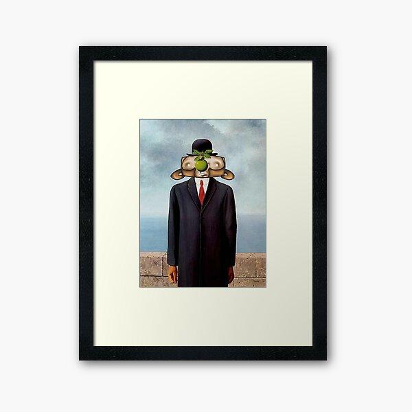 The Son of Monkey Card Framed Art Print