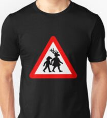 Summerisle School Crossing Sign Unisex T-Shirt