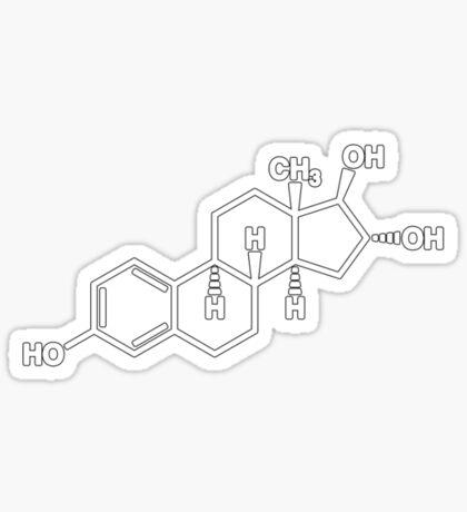 Oestrogen Sticker
