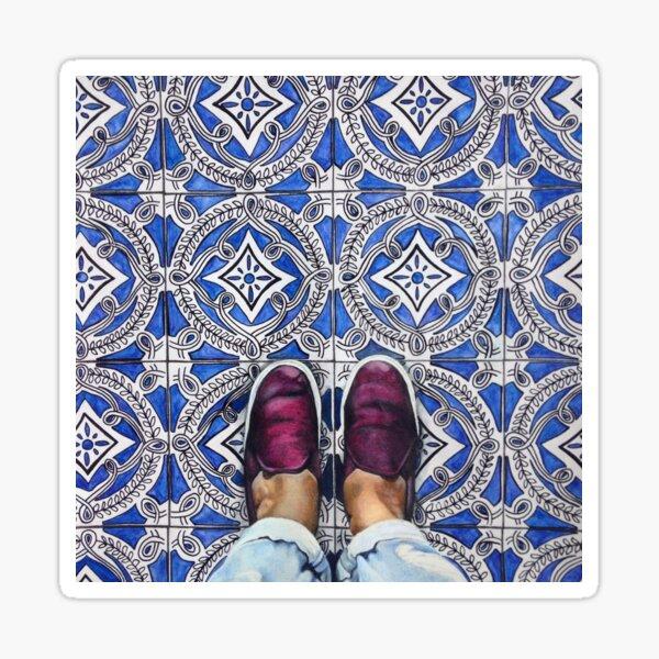 Art Beneath Our Feet, Ancona Italy  Sticker