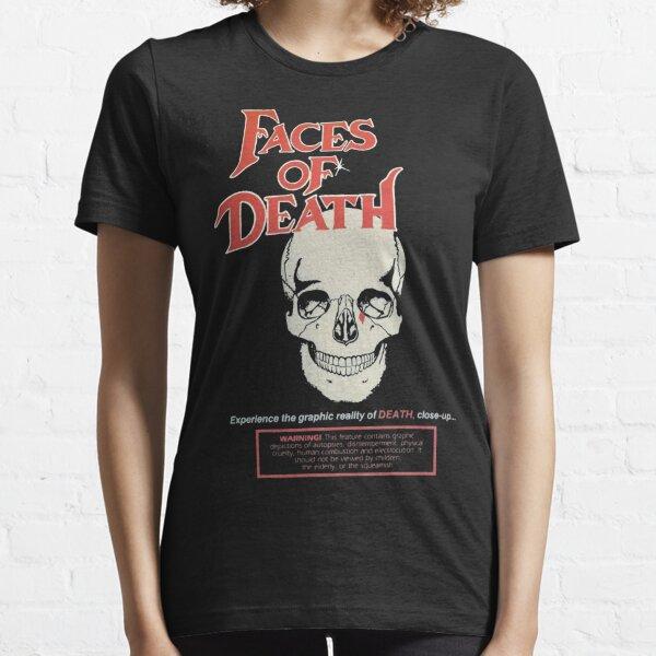 Faces of Death - Cover Art(1978)☆VHSGasm Video☆  | HORROR MERCH Essential T-Shirt