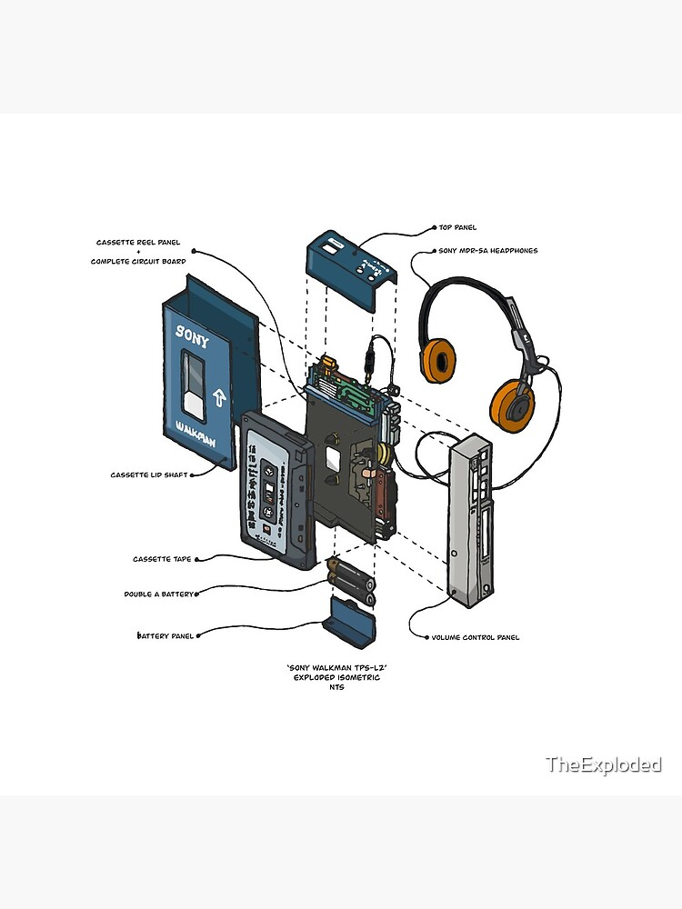 SONY WALKMAN by TheExploded