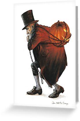 The Bogeyman and the Pumpkin by JBMonge