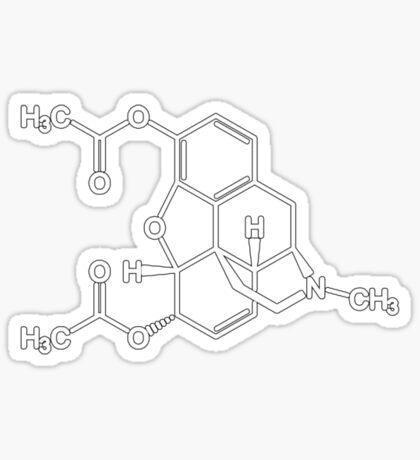 Heroin Sticker