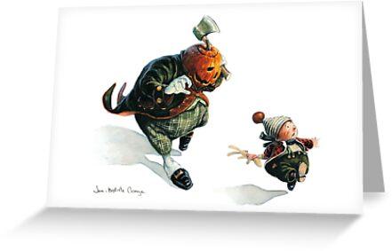 Jack O'Lantern - Run ! by JBMonge