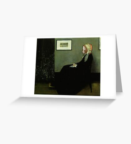 Whistler's Monkey Card Greeting Card