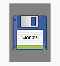 Retro MS-DOS/Commodore Amiga games Photographic Print