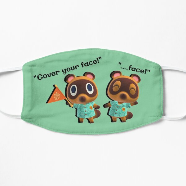 Cover your face! - Animal Crossing Mask