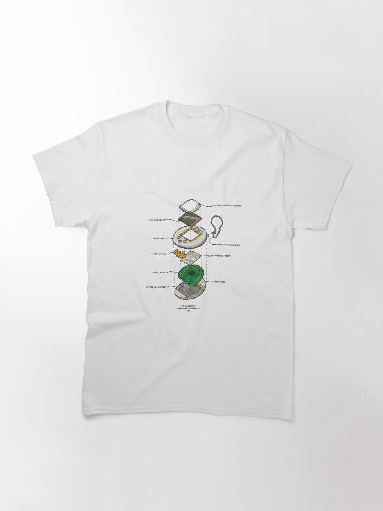 Alternate view of TAMAGOTCHI Classic T-Shirt