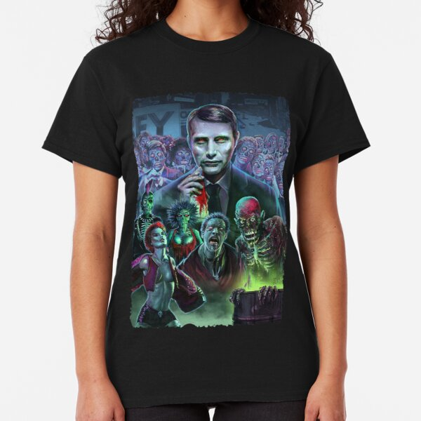 Hannibal Holocaust - They Live - Living Dead Classic T-Shirt