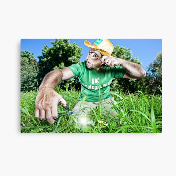 The Weed Whacker!! Canvas Print