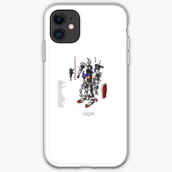 RX-78-2 iPhone Soft Case
