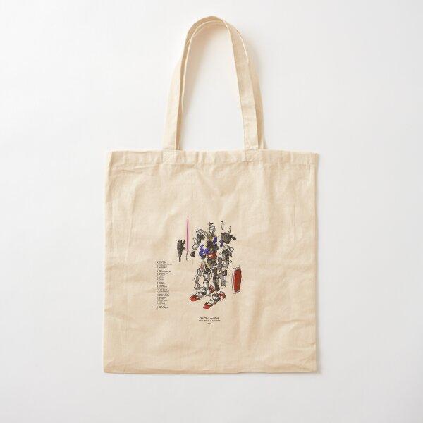 RX-78-2 Cotton Tote Bag