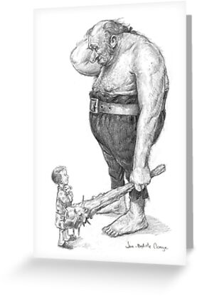 The Ogre and the Child by JBMonge