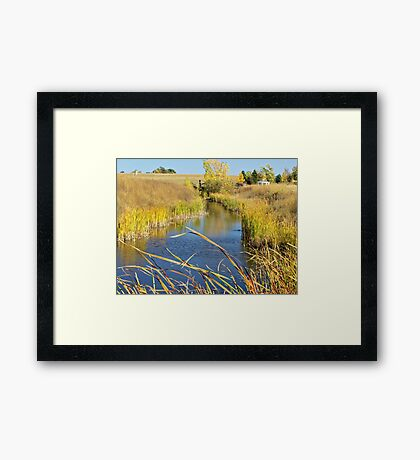 Prairie Creek Framed Print