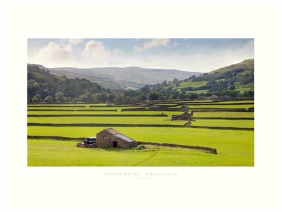 Gunnerside, Yorkshire Dales by Andrew Roland