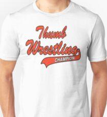 Thumb Wrestling Champion T-Shirt
