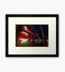 The Lebowski Bar Framed Print