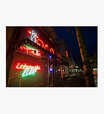The Lebowski Bar Photographic Print