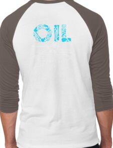 OIL  Men's Baseball ¾ T-Shirt