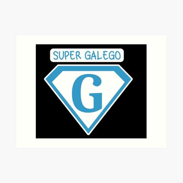 Super Galego Lámina artística